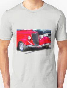 Vintage Red Car T-Shirt