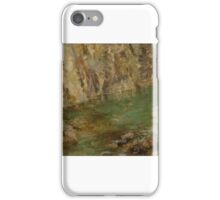Thomas Bromley Blacklock - Sea Cliffs iPhone Case/Skin