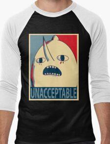 Unacceptable Lemongrab Men's Baseball ¾ T-Shirt
