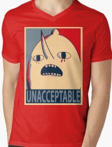Unacceptable Lemongrab Mens V-Neck T-Shirt