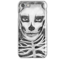 Halloween girl iPhone Case/Skin