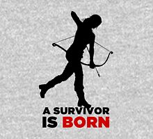 A Survivor is Born [black] Unisex T-Shirt