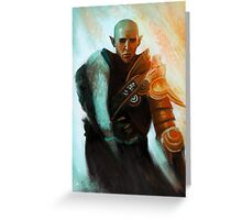 Trespasser Solas Greeting Card