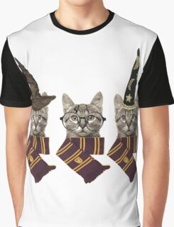 Potter cats Graphic T-Shirt