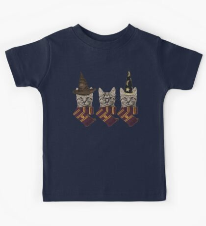 Wizard cats Kids Tee