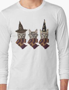 Potter cats Long Sleeve T-Shirt