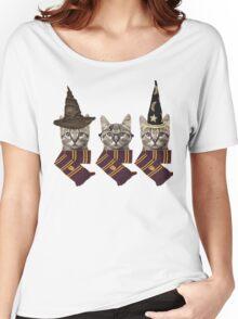 Wizard cats Women's Relaxed Fit T-Shirt