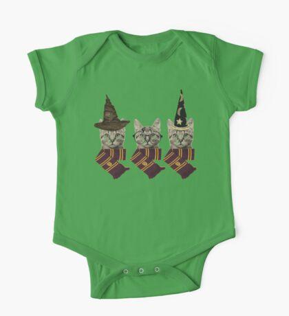 Wizard cats One Piece - Short Sleeve