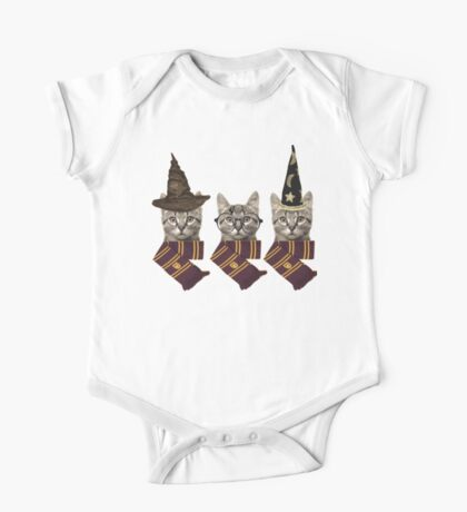 Wizard cats One Piece - Short Sleeve