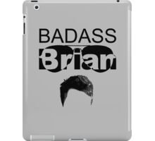 Badass Brian iPad Case/Skin