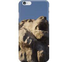 Stone Lion Statue iPhone Case/Skin