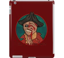 Hancock iPad Case/Skin