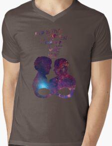 Infinite [Johnlock] Mens V-Neck T-Shirt