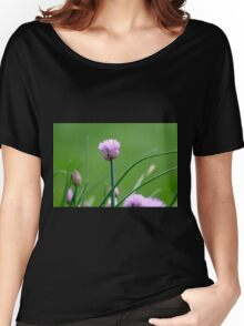 Chive Blossoms 2 Women's Relaxed Fit T-Shirt
