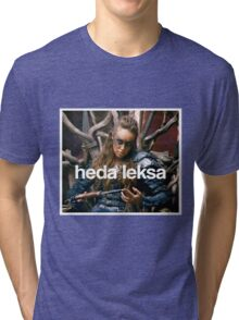 The 100 - Heda Leksa Tri-blend T-Shirt