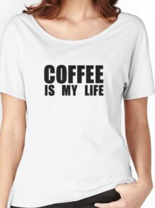 Love Coffee Drink Women's Relaxed Fit T-Shirt