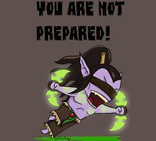 Illidan Stormrage - Not Prepared Unisex T-Shirt