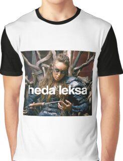 The 100 - Heda Leksa Graphic T-Shirt