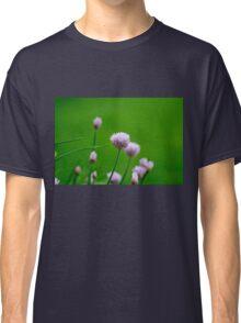 Macro Chive Blossoms 1 Classic T-Shirt