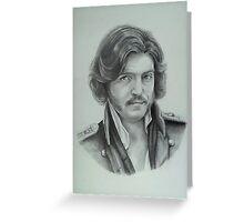 Fedya Dolokhov Portrait Greeting Card
