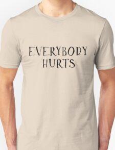 Pop Song Lyrics Rock REM  T-Shirt