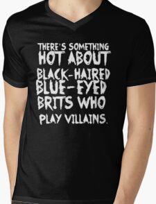 British Villains II Mens V-Neck T-Shirt