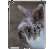 Fluffy and furry friend, The Rabbit iPad Case/Skin