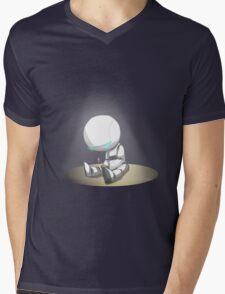 Marvin the Robot Mens V-Neck T-Shirt