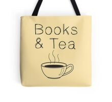 Books & Tea Tote Bag