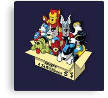 Adopt a Superdog Canvas Print