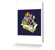 Adopt a Superdog Greeting Card