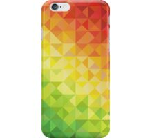 Colorful Warm Toned Triangles iPhone Case/Skin