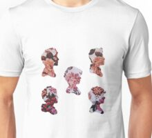 One Direction Floral Silhouettes Unisex T-Shirt