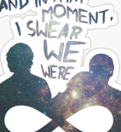 I Swear We Were Infinite II Sticker