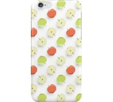 Green and Red Apples Pattern iPhone Case/Skin