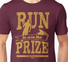 Christian T-Shirt: Run to Win the Prize 2 Unisex T-Shirt