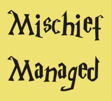 Harry Potter Mischief Managed Marauder's Map Kids Tee