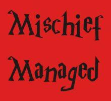 Harry Potter Mischief Managed Marauder's Map Baby Tee
