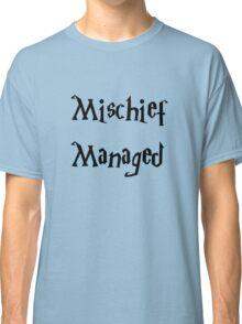Harry Potter Mischief Managed Marauder's Map Classic T-Shirt