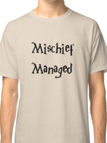 Harry Potter Mischief Managed Marauder's Map Classic T-Shirt
