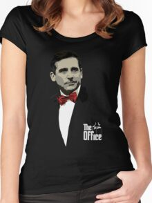 The Office: Godfather Michael Scott Women's Fitted Scoop T-Shirt