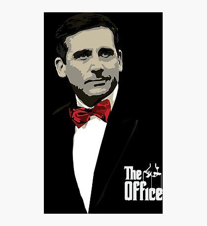 The Office: Godfather Michael Scott Photographic Print