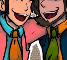 lupin & jigen Sticker