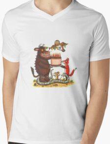 Gruffalo Mens V-Neck T-Shirt