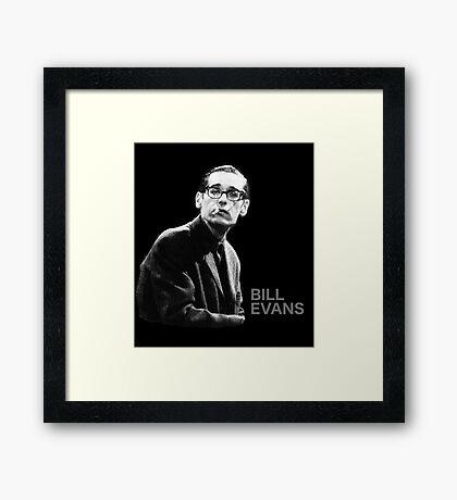 Bill Evans T-Shirt Framed Print