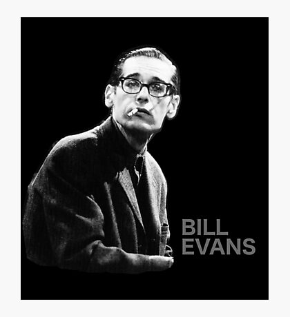 Bill Evans T-Shirt Photographic Print