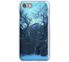 Frozen Rockies  iPhone Case/Skin