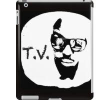 'T. V.' THE OFFICIAL T.V.-LOGO iPad Case/Skin