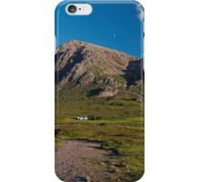 Lagangarbh Hut and Buachaille Etive Mor iPhone Case/Skin