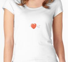 Tomato Heart - Love Women's Fitted Scoop T-Shirt